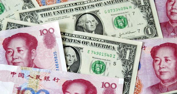 Американский доллар против китайского юаня!